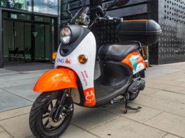 Elektryczne skutery ING w Warszawie